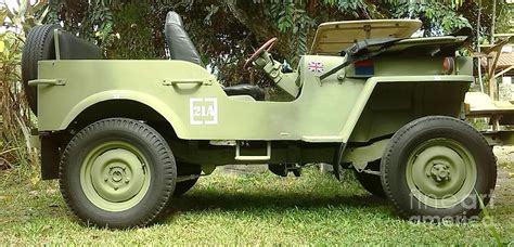 Jeep Cj2 Willy S Cj2 Jeep 1944 Photograph By Richard Holden Ra