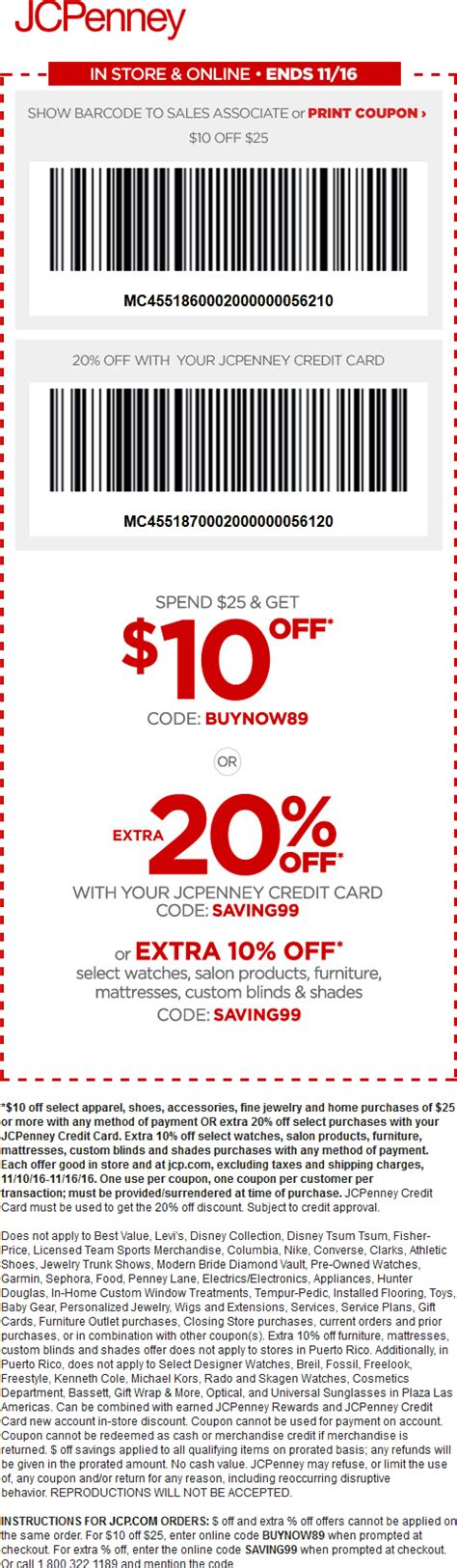 jcpenney printable coupons for bedding jcpenney coupons 10 off 25 at jcpenney or online via