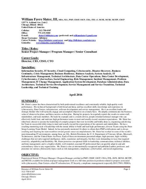 cissp resume exle resume ideas