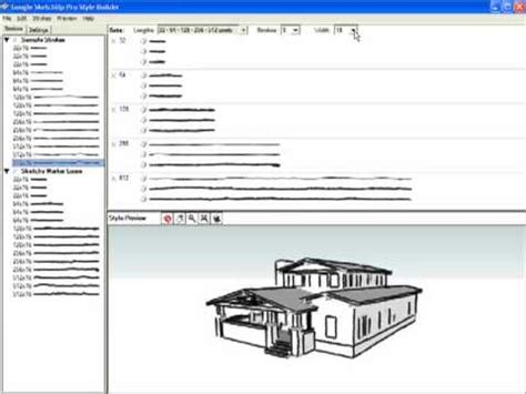 layout sketchup style builder style builder youtube