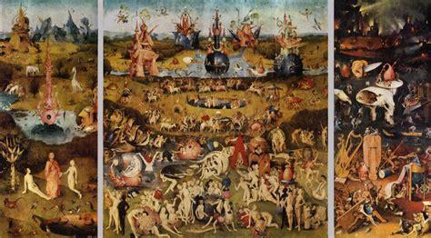 hieronymus bosch il giardino delle delizie ed ora i fiamminghi di franci 171 incontriamoci