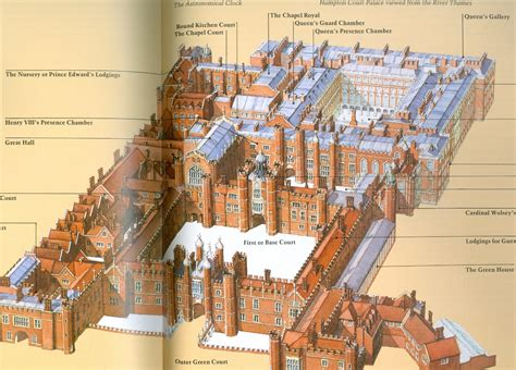 Elevation Floor Plan by Hampton Court