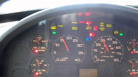 check engine light comes on in cold weather international 4300 dt466 cold start