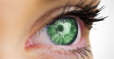 eye color green the most attractive eye color