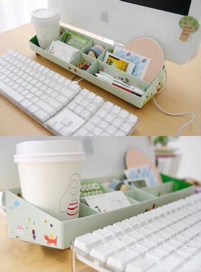 Desk Organization Diy Diy Paper Stationery Makeup Comestics Pen Desk Organizer Storage Box
