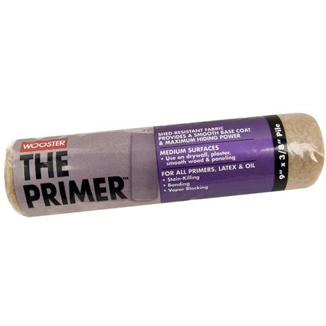 home depot paint roller covers wooster 9 in x 3 8 in high density roller cover shop