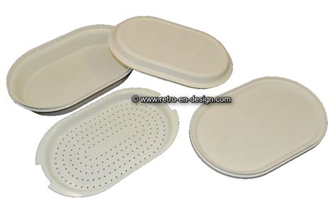 Tupperware Lotus Platter vintage tupperware oval serving tray recently sold retro design 2nd collectibles