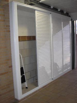 armario patio interior armario de interior aluminio lacado blanco trastero