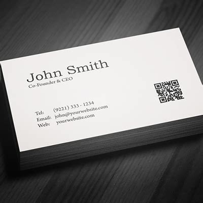 single sided business card template one sided business card designs choice image business