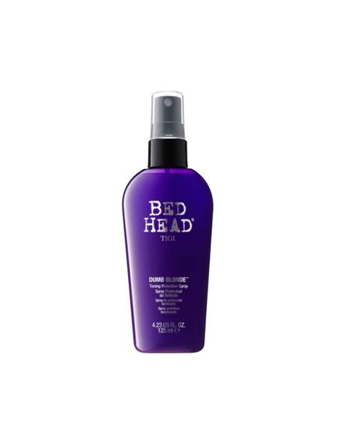 bed head purple shoo tigi bed head tigi bed head dumb blonde purple toning