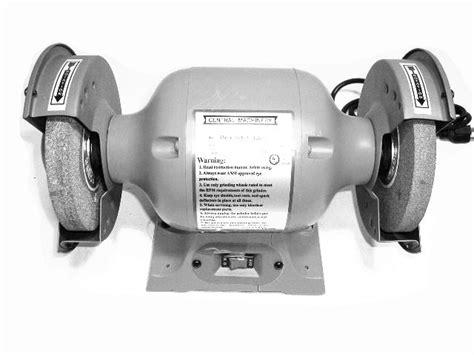 bench grinder manual 6 quot bench grinder 94184