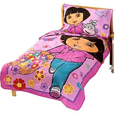 nickelodeon dora the explorer toddler bedding set amazon com nickelodeon dora the explorer toddler bedding