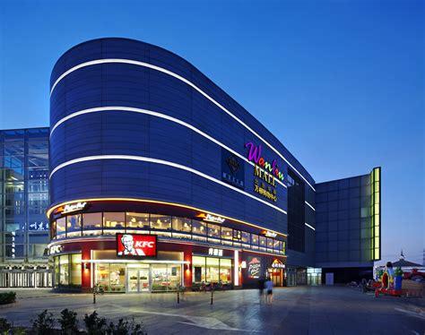layout of northeast mall perkins eastman wanliu shopping center