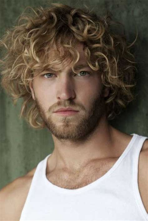 Mens Haircuts Blonde Curly | curly hairstyles for men 2013 mens hairstyles 2018