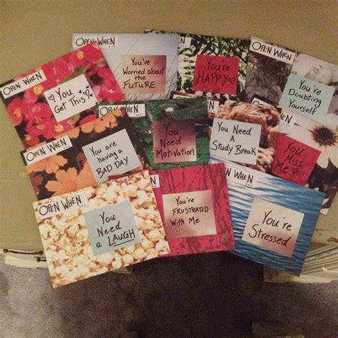 Gift Ideas Letter H best friend ideas diy open when letters friends and