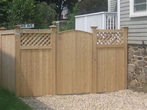 wood fence gate designs fence ideas