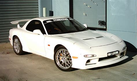 what country made mazda rx7 that never made it out to the market fd3s rx 7 m2