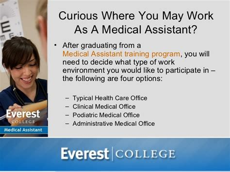 where do medical assistants work