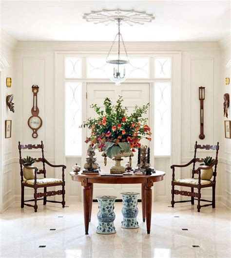 round foyer table ideas cool ideas for entry table decor homestylediary com