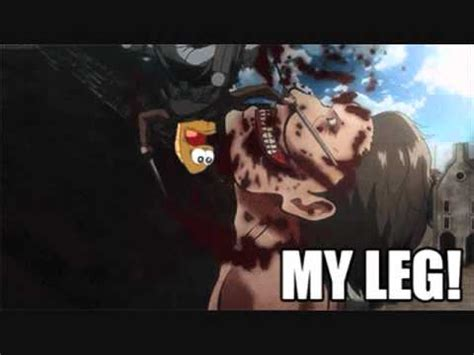 how do i my to attack on command attack on titan my leg