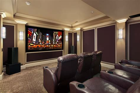 Home Theater by Home Theater Installation Houston Home Cinema Installers
