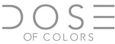 dose of colors cosmetics dose of colors trademark of dose of colors inc serial