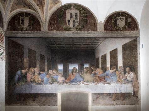 leonardo illuminazione l ultima cena di leonardo illuminata a led