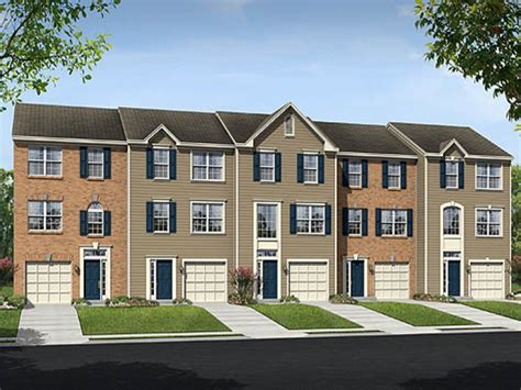Ryland Townhomes Floor Plans by Red Oak Crossing New Townhomes In Glen Burnie Md 21061