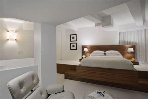 schlafzimmer le modern schlafzimmer modern designer einrichten holz rahmen bett