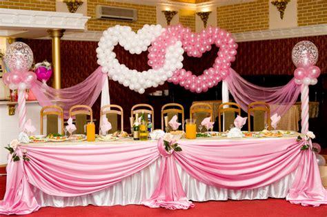Luftballons Hochzeit Deko by Wedding Buffet Ideas Using Balloons For Buffet Table