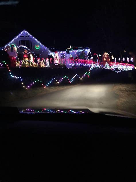 the revolution holiday lights tour around charlottesville