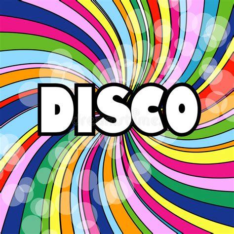 abstract disco wallpaper background stock vector