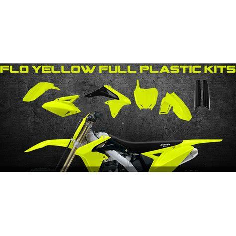 Neon Aufkleber F R Helme by Acerbis Kit Plastiksatz Suzuki Rmz 450 08 16
