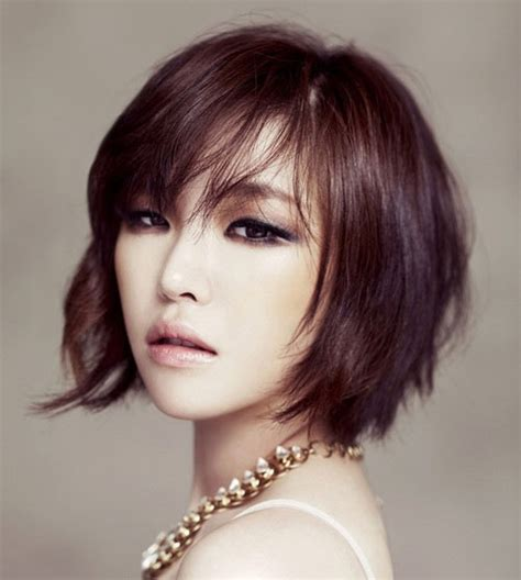 women s hairstyles brown and black asian hair color