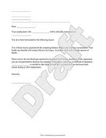 sample termination letters for workplace preview a sample