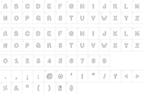 bubble letters font   fonts