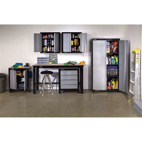 Stack On Garage Cabinets by Stack On Garage Storage System 6 Pc Steel Model Sgo