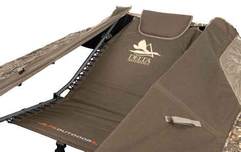 layout hunting chairs zero gravity layout blind delta waterfowl gear
