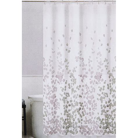 Gray Fabric Shower Curtain by Drapes Curtains Purple House Home