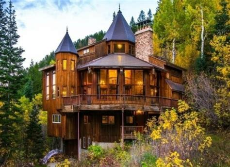 Rocky Mountain Log Homes Floor Plans Castle Cabin In The Mountains Unique Home And Real Estate