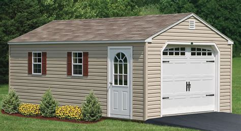 Detached Garage With Apartment by Prefabricated Garages Amp Garage Sheds In Pa Amish