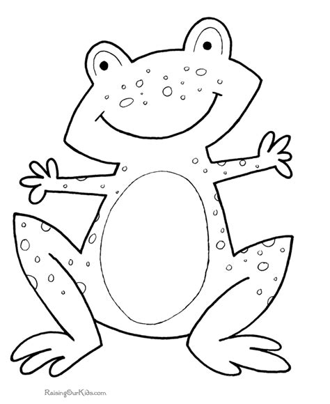 Printable Coloring Pages Preschool | preschool printables 017