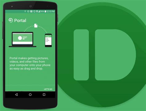 portal android send files between phone and pc wirelessly with portal vicentea george apps android portal