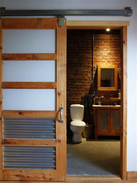 bathroom door designs rustic bathroom door design in house decobizz