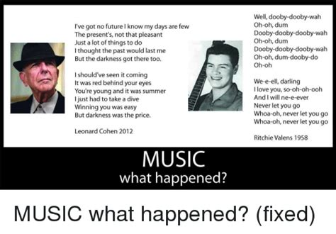 oh no now we know what happened to that missing piece 25 best memes about ritchie valens ritchie valens memes