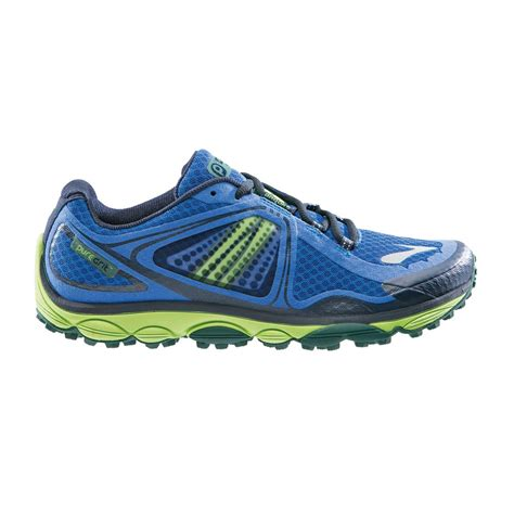 Ardiles Marendaz Green Blue Running Shoes puregrit 3 mens trail running shoes electric blue green sportitude