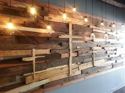 wood pallet wall paneling trend that you will love