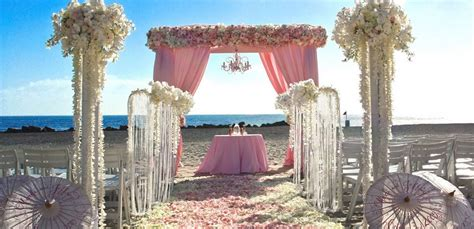 sweet pink beach wedding ideas wedding destination