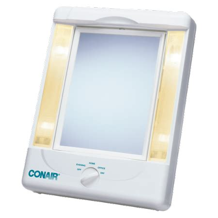 Conair Two Sided Makeup Mirror With 4 Light Settings