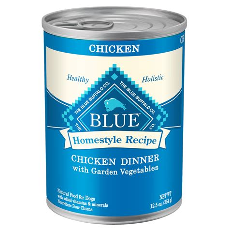 blue buffalo canned food blue buffalo homestyle recipe dinner canned food chicken petco